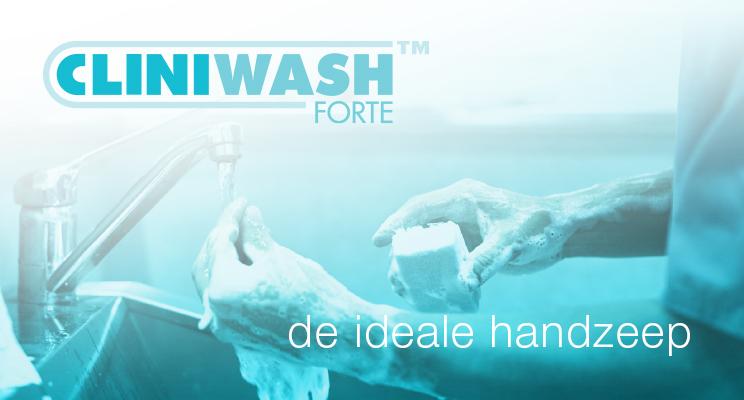 Cliniwash Forte™, De Ideale Handzeep
