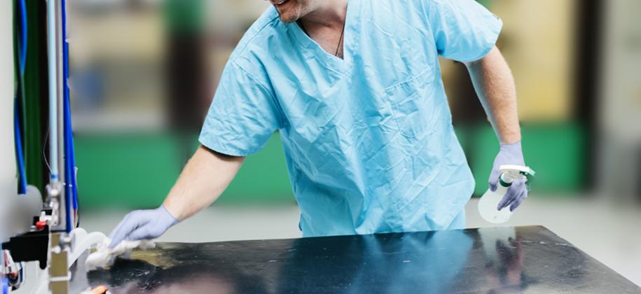 reinigen en desinfecteren van oppervlakken