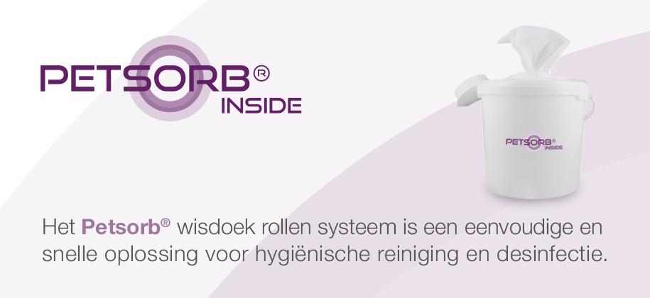 Petsorb® wisdoek systeem